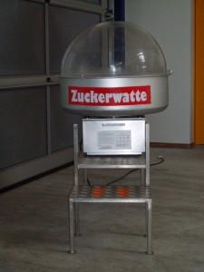 Zuckerwattemaschine Mieten Hochzeit